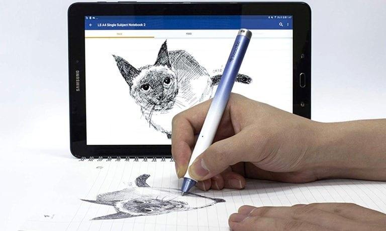 Démonstration du concept d'un stylo connecté